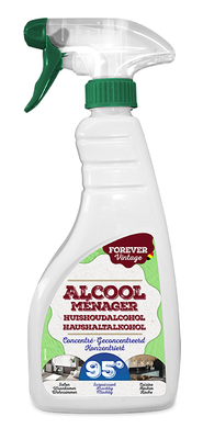 Huishoudalcohol 95% Spray 500ml (6pp)