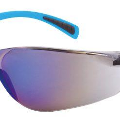 OX Veiliheidsbril blauw spiegel