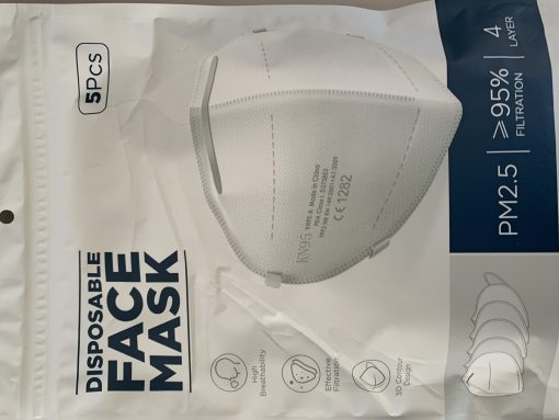 KN95 Disposable Face Mask (5pp)