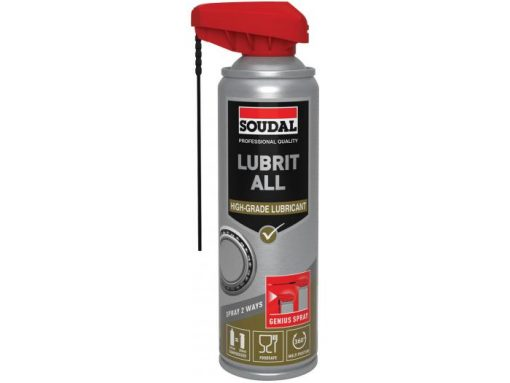 Soudal Lubricante all genius spray 300ml (6pp)
