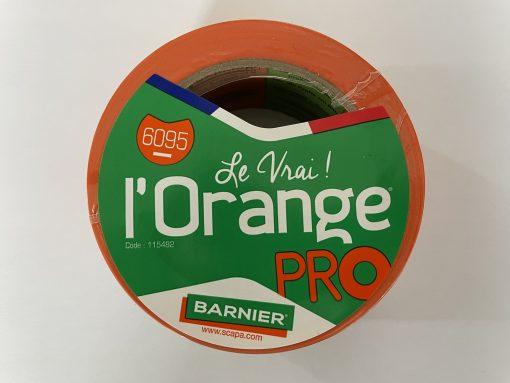 Barnier 6095 Oranje 50mmx33m (36per doos)
