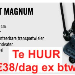 Verhuur Trilplaat 18kn per dag / Borg €100